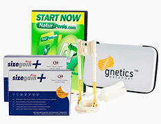 Gnetics extender + Sizegain Plus x2 + Naturpenis Gratis