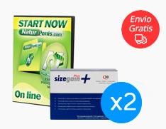 Sizegain Plus x2 + Naturpenis Gratis
