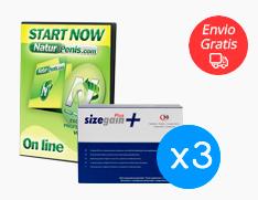 Sizegain Plus x3 + Naturpenis Gratis